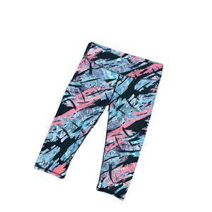 Fabletics Colorful Capri Leggings Athletic Pants